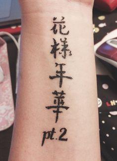 Resultado de imagem para tatuagem bts