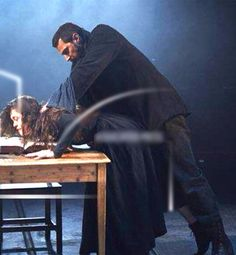*Yowza!* Richard Armitage a bit intense as John Proctor in 'The Crucible' at The Old Vic. Love this!!!