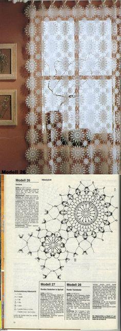 Crochet Chart, Thread Crochet, Love Crochet, Crochet Motif, Vintage Crochet, Crochet Designs, Crochet Doilies, Crochet Flowers, Crochet Lace