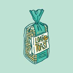 – loaf of toast / bread illustration. – loaf of toast / bread illustration. Spring Nail Art, Winter Nail Art, Winter Trends, Food Illustrations, Illustration Art, Toast Image, Bild Outfits, Christmas Truffles, Zucchini Cake