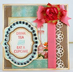 JustRite card designed by Eva Dobilas using stamps from @JustRite Stampers.