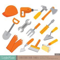 Bouw Tools digitale Clipart