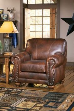 Cabela's: Osmond Club Chair.  I like this style for our home.