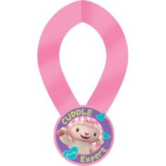 Doc McStuffins Award Ribbon - 12in Party Favor - Party City