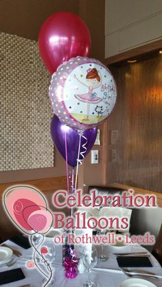 Celebration Balloons of Rothwell - Party Balloons in Leeds Celebration Balloons, Balloon Display, Balloon Centerpieces, Party Needs, Wakefield, Childrens Party, Leeds, Ballerina, Party Supplies