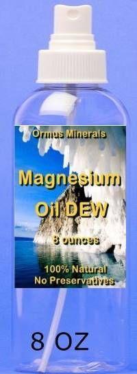 Magnesium oil Dew 8oz $50