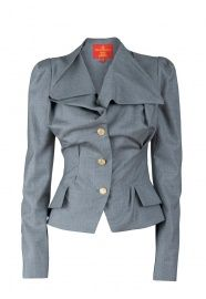 Vivienne Westwood Three Button Jacket, Spring/Summer 2011. A-MAZING tailoring!