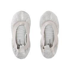 Yosi Samra Samara Glitter | Ballet flats from Yosi Samra that slip on and off for on-the-go style.