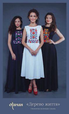 Vestidos bordados Oaxaca