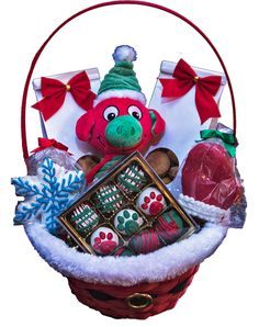 1000+ images about Luxury Christmas Gift Baskets For Dogs ...
