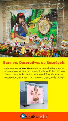 Banners Decorativos ou Rasgáveis