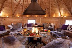 Grillkota in Lindner Ferienpark am Nürburgring - Nürburgring Effective pictures we are about home decor decoracion to offer A quality picture can tell Bungalows, Grill Kota, Bar B Que Pits, Small Barns, Shepherds Hut, Backyard Projects, Eclectic Decor, House Floor Plans, New Homes
