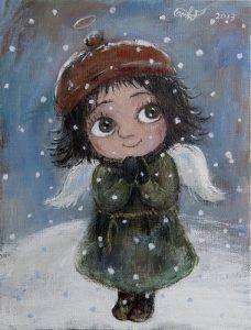 Нино Чакветадзе: «Мои картины помогают людям перенестись в детство и почувствовать…» — ИНТЕРВЬЮ — Yenicag.Ru