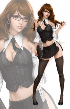 Office Lady I by `Artgerm