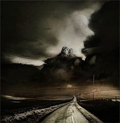 Road to nowhere...... by Lawrence Graves | Conceptual Photography