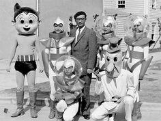 Tezuka Osamu : Osamu Tezuka | Hotel de Ville: A Vintage Eyewear Blog