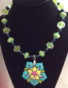 Beautiful Necklace for Spring by Justfashionating on Etsy, $34.95