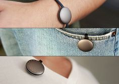 Fitness tracking device. Small, discreet and housed in an aluminum body. Interfaces with Android and iOS.