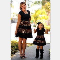 bac246c0eb32 tcYct 2017 Leopard Fashion mommy and me Family Matching Outfits mother and daughter  clothes Mom and daughter dress family look
