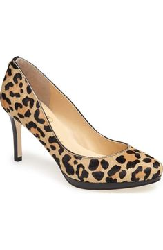 Ivanka Trump 'Sophia' Calf Hair Platform Pump available at