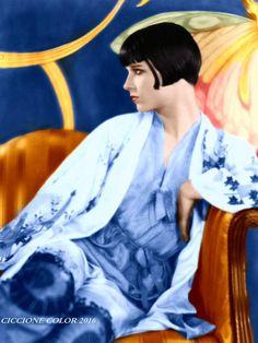 Louise Brooks color circa 1926