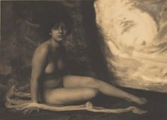 Frank Eugene. The great white cloud 1910