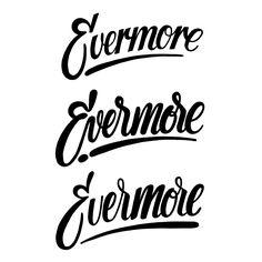 project365 #110 Evermore Logodesign by bijdevleet