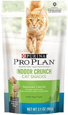 Purina Pro Plan Dry Cat Snack, Indoor Crunch, Reduced Calorie with Tuna, Pouch, Pack of 10 Purina Cat Chow indoor dry cat delicacies gives indoor cats complete keen on with fewer calories and additional fiber to aid control weight and hairballs. Cleaning Cat Urine, Senior Cat Food, Cat Training Pads, Cat Shedding, Cat Fleas, Cat Memorial, Cat Accessories, Cat Grooming, Cat Health