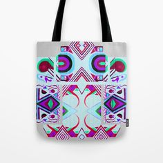 Mandalic Altar II Tote Bag by Aaron Carberry | Society6