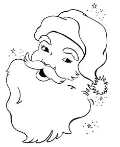 Free Printable Santa Face