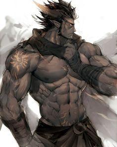 #fantasymen #shirtlessfantasymen #dnd