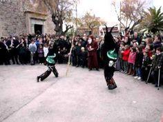 Ball dels dimonis amb Sant Antoni a Sa Colònia de Sant Pere 2011. Mallorca