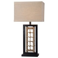 1-light Nautical Table Lamp | Overstock™ Shopping - Great Deals on Table Lamps