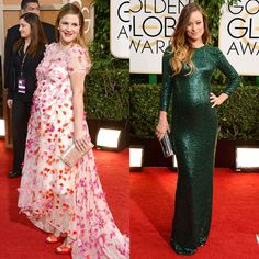 Baby bump style at the 2014 Golden Globe Awards
