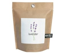Lavender Garden-in-a-Bag – Full Grow Kit – Hostess Gift – Wedding – Baby Shower – Bridal Shower – Apartment- Dorm Room – Small Spaces by PottingShedCreations on Etsy https://www.etsy.com/listing/252924168/lavender-garden-in-a-bag-full-grow-kit
