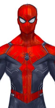 ArtStation - High-Tech Spider Suit, Rose Davies - Visit to grab an amazing super hero shirt now on sale! Marvel Comics, Heros Comics, Marvel Vs, Marvel Heroes, Best Marvel Characters, Marvel Comic Character, Comic Book Characters, Spiderman Suits, Spiderman Art