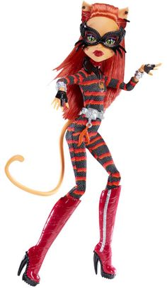 Toralei Cat Astrophe Power Ghouls Doll