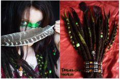 Shaman girl :) #dreads #dreadlocks #wool #roving #fairy #boho #hippie #tribal #ozora #ethno