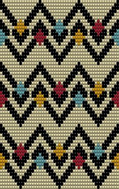 This post was discovered by Ba Tapestry Crochet Patterns, Bead Loom Patterns, Beading Patterns, Embroidery Patterns, Cross Stitch Patterns, Knitting Stitches, Knitting Patterns, Mochila Crochet, Tapestry Bag
