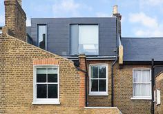 Martyn Clarke Architektur - Dickenson Road, London - New Ideas Cottage Extension, House Extension Design, Roof Extension, Loft Conversion Roof, Loft Conversion Extension, Loft Conversions, Loft Dormer, Dormer Bungalow, Terrace House Exterior