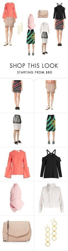 """""""Fringed Skirts..**"""" by yagna ❤ liked on Polyvore featuring Nicholas, Edun, J.W. Anderson, Marco de Vincenzo, Roksanda, Proenza Schouler, Rosie Assoulin, Étoile Isabel Marant, Rochas and Vanessa Mooney"""