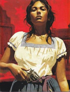 Old West, Arte Latina, Mexican Artwork, Latino Art, Mexican Revolution, Geniale Tattoos, Aztec Art, Chicano Art, Chicano Drawings