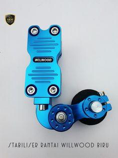 Stabiliser Rantai Willwood Biru IDR 100.000,-/Pcs