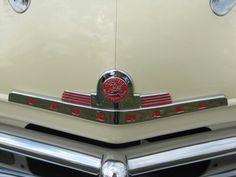 1954 Vauxhall radiator badge
