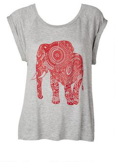 Elephant Tee - View All Graphic Tees - Tops - Clothing - Alloy Apparel