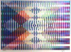 yaacov agam   Dieses Kunstwerk, Untitled II von Yaacov Agam , wird derzeit bei ...