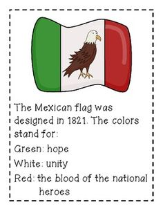 flag day mexico activities elementary