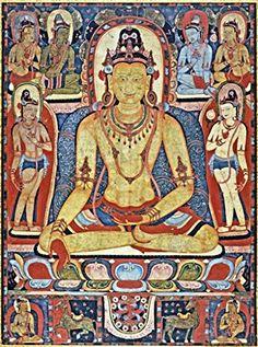 The Jina Buddha Ratnasambhava ; Kadampa Monastery : c1150 : Fine Art Giclee Archival Reprint Company