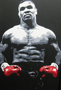 Mike Tyson Painting - Mike Tyson 10 by Geo Thomson