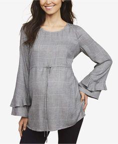 b8076e4274e66 Motherhood Maternity Bell-Sleeve Top & Reviews - Maternity - Women - Macy's